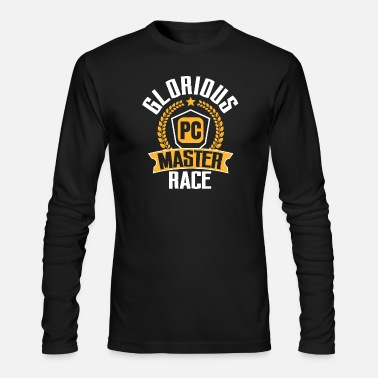 Pc PC Gamer PC Gaming Glorious PC Master Race Gift - Men's Longsleeve Shirt