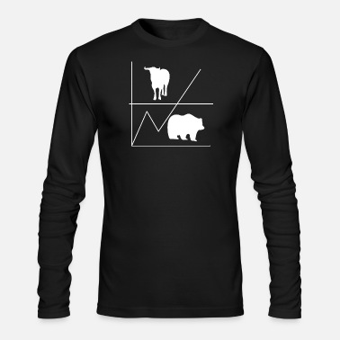 Bull Bull & Bear - Men's Long Sleeve T-Shirt by Next Level