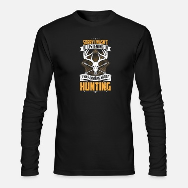 Hunting Hunting - Men's Long Sleeve T-Shirt by Next Level
