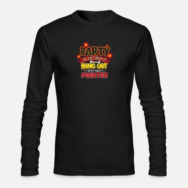 Dog Party Pointer Dog Party - Men's Longsleeve Shirt