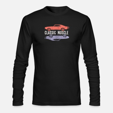 Muscle Classic Muscle Cars - Men's Longsleeve Shirt