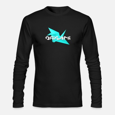 Origami origami - Men's Long Sleeve T-Shirt by Next Level