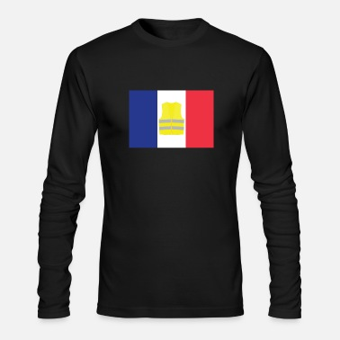 French Flag French Flag - Men's Long Sleeve T-Shirt by Next Level