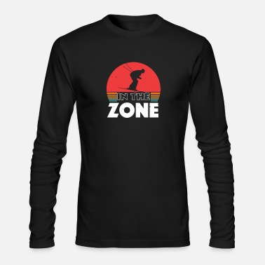 Heavenly Skiing - in the zone - Men's Longsleeve Shirt