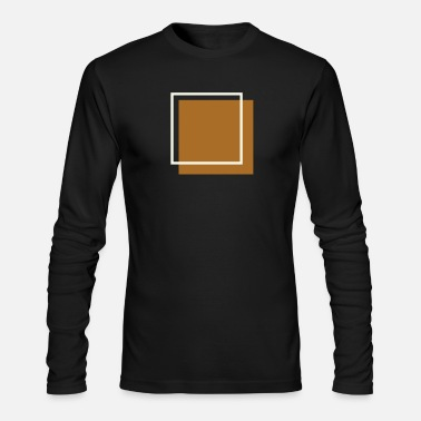 Square Squares - Men's Long Sleeve T-Shirt by Next Level