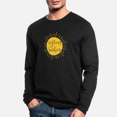 walking on sunshine - Men's Longsleeve Shirt
