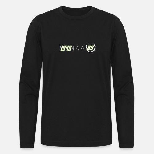 Mens Longsleeve Shirt69th Birthday Running Countdown