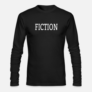Fiction Fiction - Men's Long Sleeve T-Shirt by Next Level