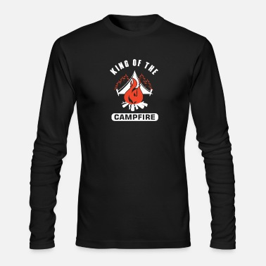 King Of The Campfire King Of The Campfire - Men's Longsleeve Shirt