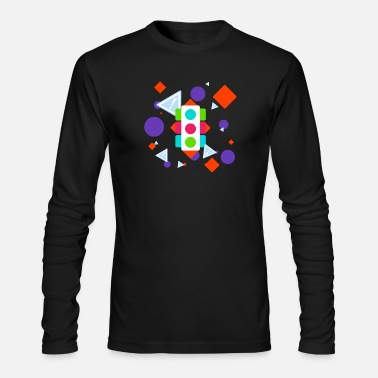 Traffic Traffic - Men's Long Sleeve T-Shirt by Next Level