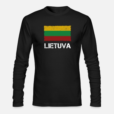 Lithuania Lithuania - Men's Long Sleeve T-Shirt by Next Level