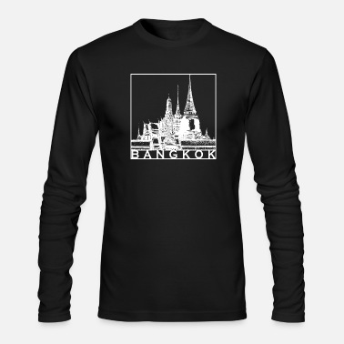 Bangkok Bangkok - Men's Long Sleeve T-Shirt by Next Level