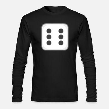 Dice DICE - Men's Long Sleeve T-Shirt by Next Level