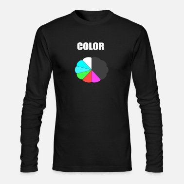 Coloring COLOR - Men's Long Sleeve T-Shirt by Next Level