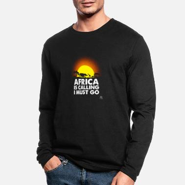 Love Africa Go To Africa - Men's Longsleeve Shirt