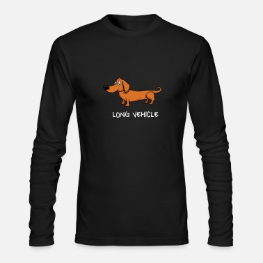 Sausage Long Vehicle Dachshund Sausage Dog Hunting Gift - Men's Longsleeve Shirt