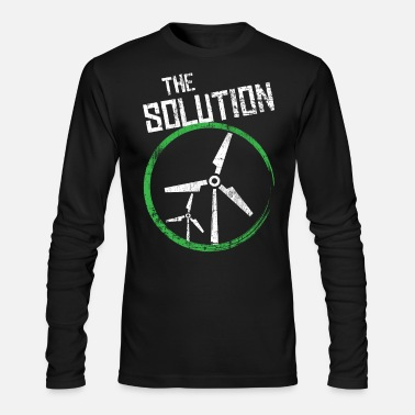 Wind Renewable Energy Wind Power - Men's Longsleeve Shirt