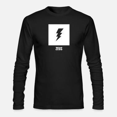 Mythology Zeus | Greek Mythology God Symbol - Men's Long Sleeve T-Shirt by Next Level