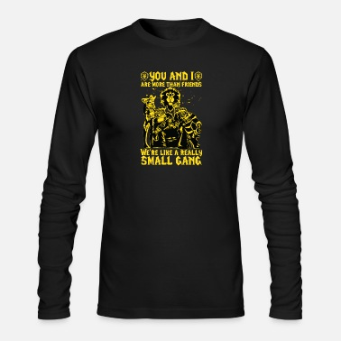Alliance WoW - We're like a really Small Gang t-shirt - Men's Long Sleeve T-Shirt by Next Level