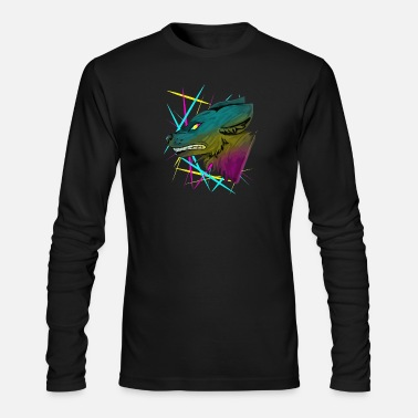 Neon Neon Flicker - Men's Longsleeve Shirt