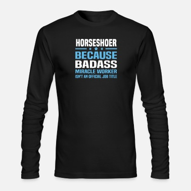 Horseshoe Horseshoer - Men's Longsleeve Shirt