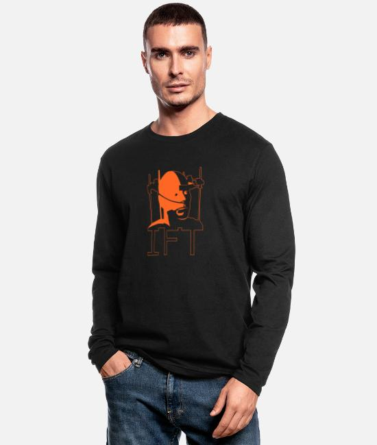 Walter Long-Sleeved Shirts - I.F.T. - Men's Longsleeve Shirt black