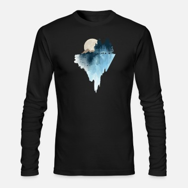 Landscape landscape - Men's Long Sleeve T-Shirt by Next Level