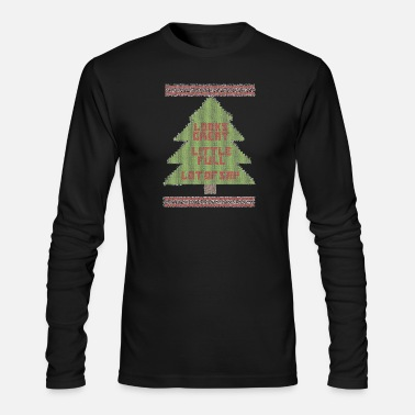 Ugly-christmas-sweater Christmas Vacation Ugly Sweater - Men's Long Sleeve T-Shirt by Next Level