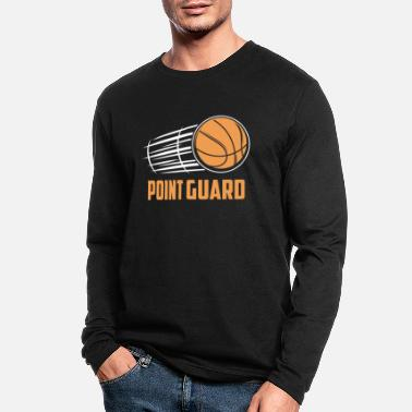 Steal Basketball Point Guard - Men's Longsleeve Shirt