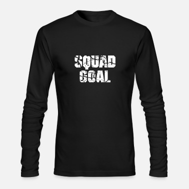 Squad Goal white - Men's Longsleeve Shirt
