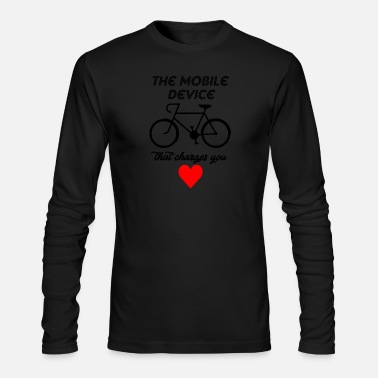 Mobile mobile divice - Men's Long Sleeve T-Shirt by Next Level