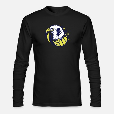 Water volleyball water polo eagle head - Men's Longsleeve Shirt