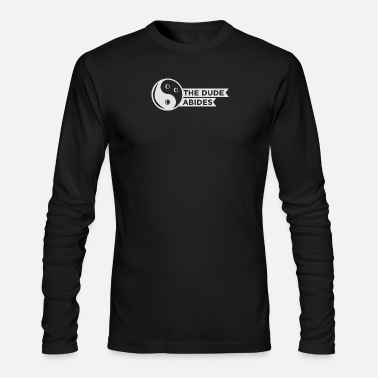 New Design The Dude Abides Best Seller - Men's Long Sleeve T-Shirt by Next Level