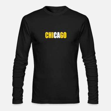 Chicago CHICAGO - Men's Long Sleeve T-Shirt by Next Level