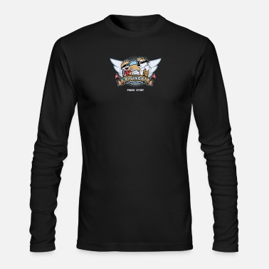 Video Game Video Game Cyber System - Men's Long Sleeve T-Shirt by Next Level