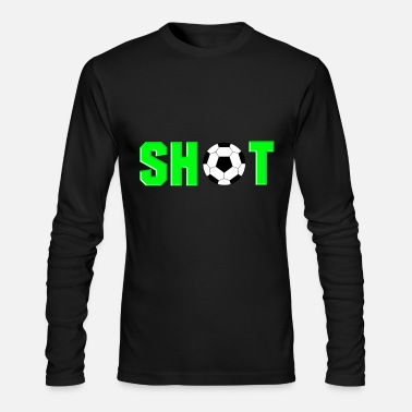 Grass Soccer Shot - Men's Longsleeve Shirt