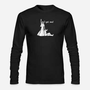 Groom I Got One Wedding Bride Groom Engagement - Men's Long Sleeve T-Shirt by Next Level