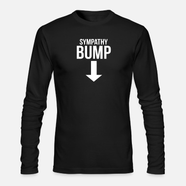 Beer Belly Sympathy Bump Novelty Beer Belly - Men's Long Sleeve T-Shirt by Next Level