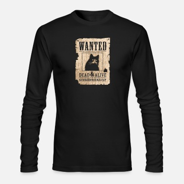 Alive Wanted Dead And Alive - Men's Long Sleeve T-Shirt by Next Level