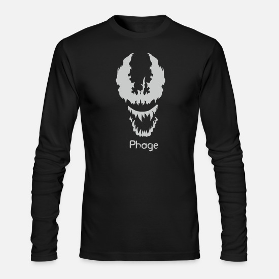 Suburban Long-Sleeve Shirts - Phage - Men's Longsleeve Shirt black
