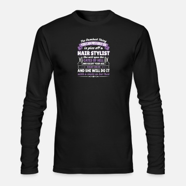 Stylist Hair stylist - Men's Long Sleeve T-Shirt by Next Level
