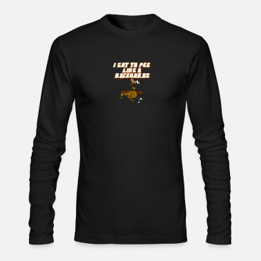 Racehorse Pee like a racehorse - Men's Long Sleeve T-Shirt by Next Level