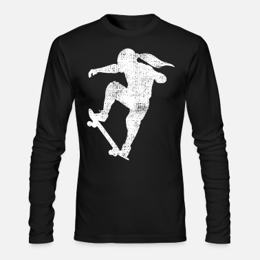 Skateboard Skateboard girl - Men's Longsleeve Shirt