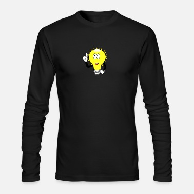 Light Bulb light bulb - Men's Long Sleeve T-Shirt by Next Level