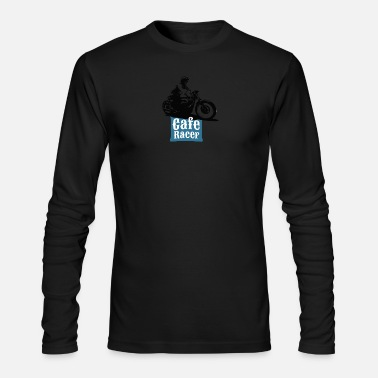 Cafe Cafe Racer - Men's Long Sleeve T-Shirt by Next Level