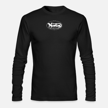 Motorcycle Vintage motorcycle Norton - Men's Long Sleeve T-Shirt by Next Level