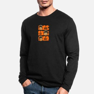 Cop GOOD COP BAD COP UGLY COP - Men's Longsleeve Shirt
