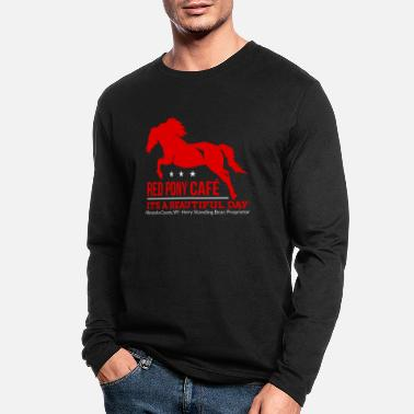 Mare Horse mare horses gift stallion pony riding - Men's Longsleeve Shirt