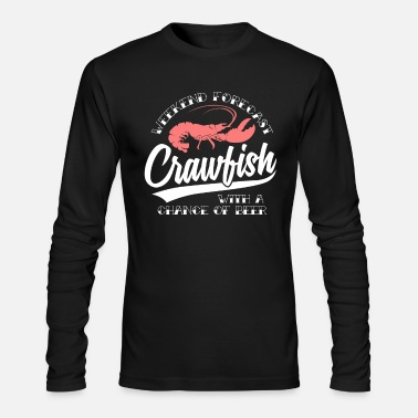 Crawfish funny crawfish shirt - Men's Longsleeve Shirt