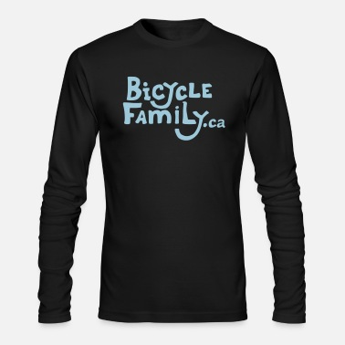 Bicycle Family Name Only Logo - Men's Longsleeve Shirt